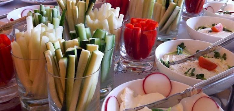Freuen Sie sich in der Tagungspause auf gesunde Snacks
