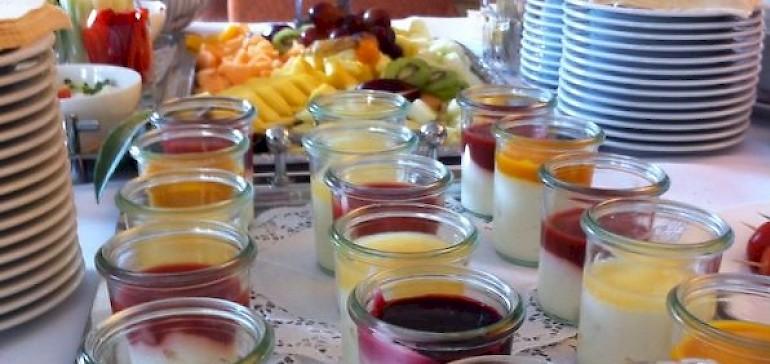Die Tagungsverpflegung im Tagungshotel Kaiserhof besteht aus gesunden, frischen Speisen