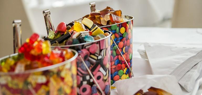 Süße Tagungspause mit unserer Candy-Bar