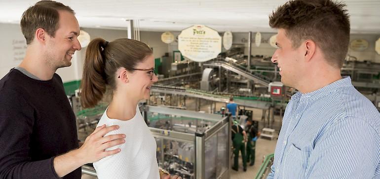Bei der Unterhaltung für Firmenevents muss es schon was außergewöhnliches sein, wie ein Besuch der Pott's Brauerei in Oelde.