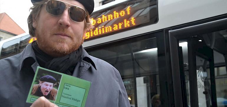 """Gruppen können beim nächsten Firmenfest auf die Suche nach """"Mister X"""" gehen. Spannendes Krimi-Stadtspiel von Statt Reisen Münster."""