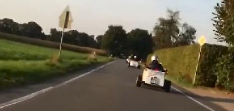 Volle Fahr voraus mit den Hotrods quer durchs Münsterland