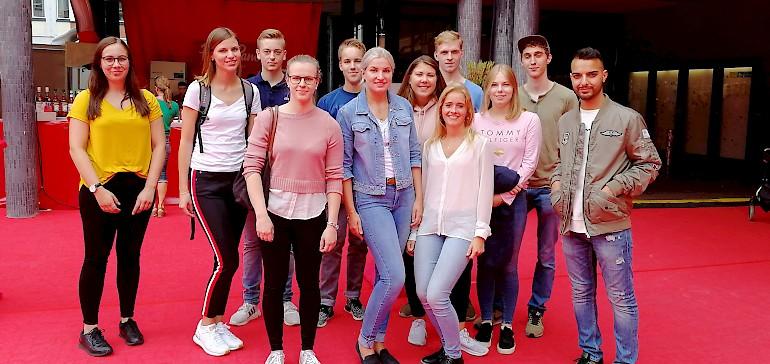 Begleitet von Bachelor-Studentin Meike ging es auf Tour durch die Stadt