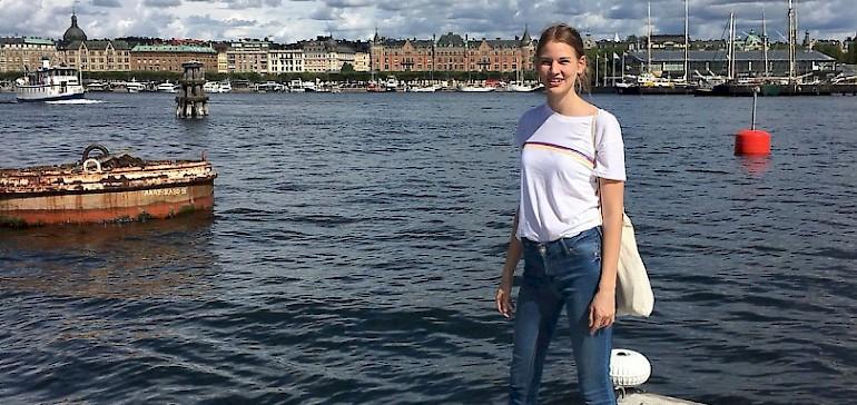 Bei einem vierwöchigen Praktikum in Schweden konnte Azubine Marleen erste Auslandserfahrung sammeln
