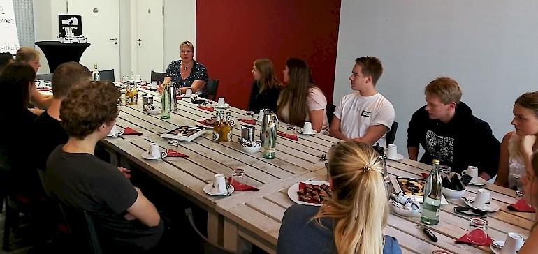Uta Deutschländer berichtet über die Herausforderungen einen integrativen Betrieb zu leiten