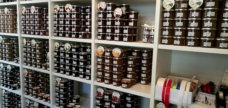 Große Auswahl im kleinen Laden