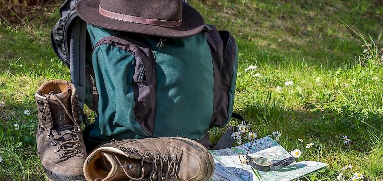 Um auf dem Jakobsweg zu wandern braucht man eine gute Pilgerausrüstung