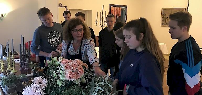 Dekorationsworkshop mit unserer Floristin Elke Markwort