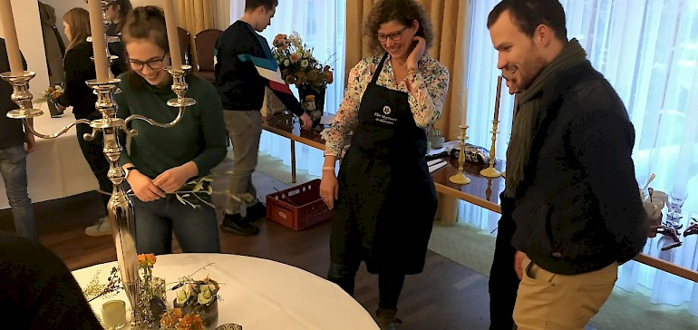 Beratung mit Floristin Elke Markwort