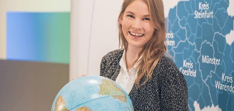 """Marleen Roß beim IHK Forum """"Aus- und Weiterbildung weltweit"""""""