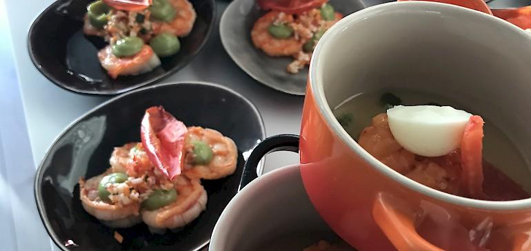 Unser Partyservice bietet verschiedene, frische Speisen