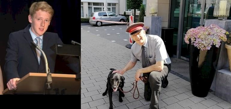 Azubi Finn Kersting und Wagenmeister Rainer Nüchter berichten über ihr ehrenamtliches Engangement