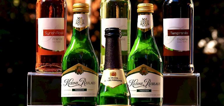 Es werden verschiedene Weinsorten unterschieden