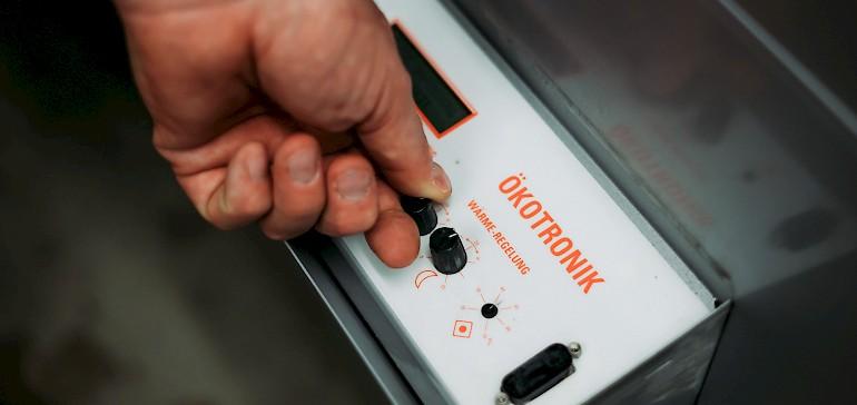 Die Ökotronik-Anlage wird regelmäßig geprüft.