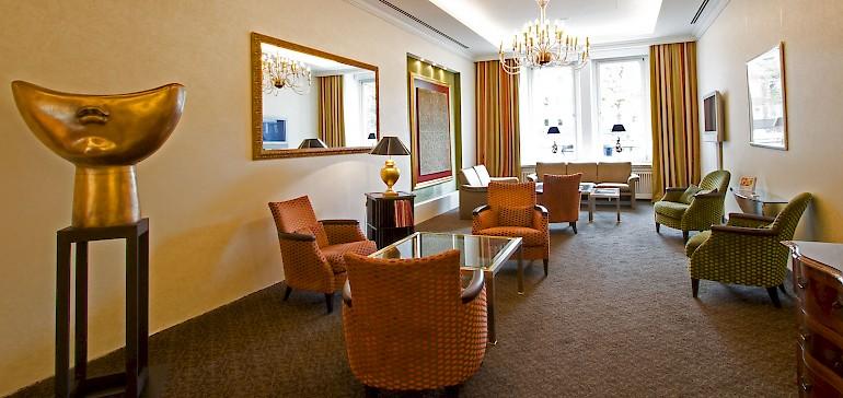 Nach der Renovierung war die Lobby bis 2016 ein Mix aus Tradition und Moderne.