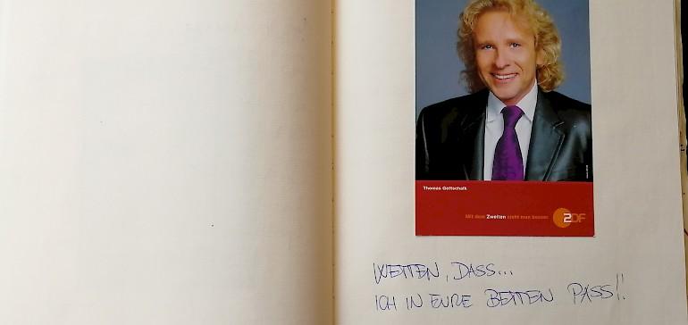 Showmaster und TV-Urgestein Thomas Gottschalk war 2005 im Kaiserhof