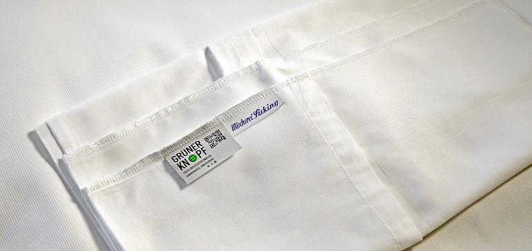Bettwäsche mit Grüner Knopf - ©Christoph Hünting/Deutz Produktionsstudios GmbH